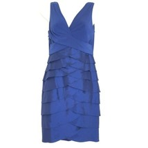 adrianna papell bodycon wiggle rouched v-neck dress Size 4 - $34.64