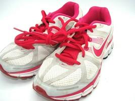 NIKE Pegasus 28 Women's Gray Pink White Running Walk Shoes Size 7 #44380... - $28.04