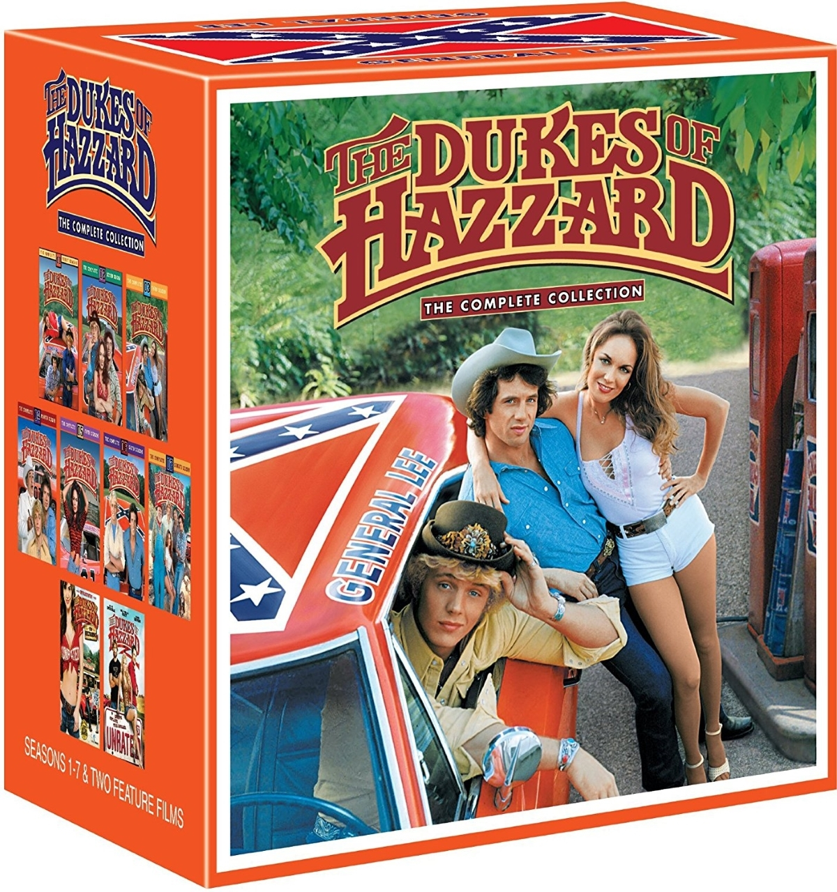 The Dukes of Hazzard The Complete Seasons 1-7 + 2 Movies (DVD 2006 39-Disc Set)