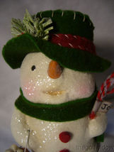 Bethany Lowe Jolly Tiny Tim Snowman no. MA9265 image 3
