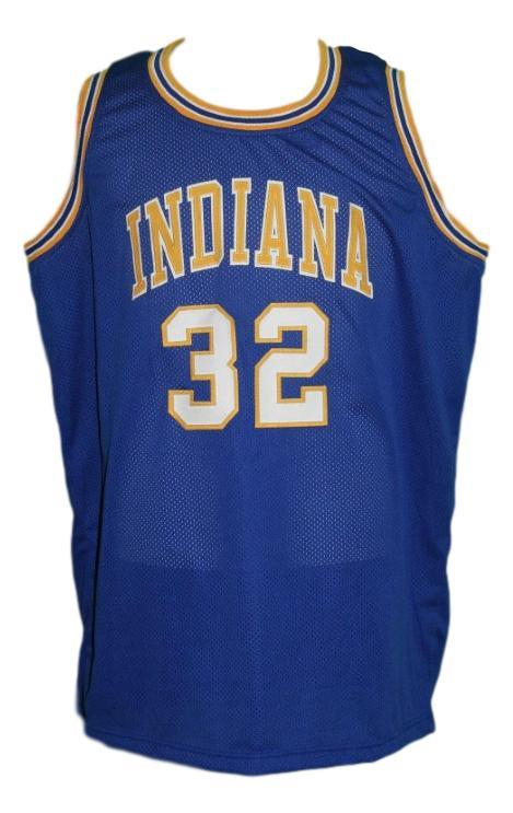 Reggie harding indiana aba basketball jersey blue   1