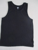 Old Navy Women Top XS Black Solid Sleeveless Cotton 1861 - $7.85