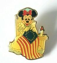 VTG Walt Disney Patriotic Pin Minnie Mouse Betsy Ross Flag Eastman Kodak... - $15.60
