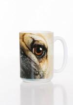 Pug Puppy Dog Face Ceramic Coffee Mug Cup 15 oz White - $19.79