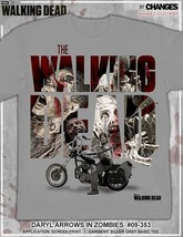 The Walking Dead Daryl Dixon Arrows In Walkers Crossbow Twd Amc T Shirt S-3XL - $19.95+