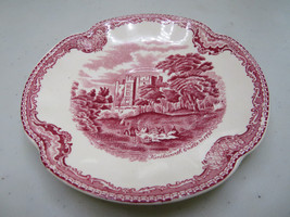 "Johnson Brothers Old Britain Castles Red Saucer Kinilworth England 5""1/2 Diam. - $20.00"