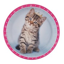 BirthdayExpress Rachael Hale Glamour Cats Party Supplies - Dinner Plates 8 - $14.32