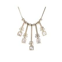 Pendant Necklace, Gold Color Adjustable Long Chain Necklace, Bead Neckla... - $34.70