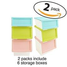 LuxorWare 3 Piece Storage Bins home Organizer for Kids Toys, Clothes & K... - $109.99