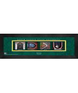 Personalized North Dakota State University Campus Letter Art Framed Print - $39.95
