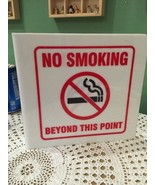 No Smoking Beyond This Point Sign - $12.45