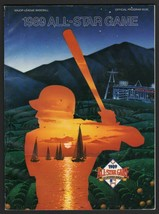 1989 Baseball All-Star Game Program / Scorecard Unscored California Angels - $8.85