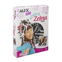 NEW Knot A Zebra Hat Alex Toys Knot-a DIY Craft kit Kids Animal - $6.88