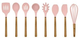Country Kitchen Silicone Cooking Utensils, 8 Pc Kitchen Utensil Set, Eas... - $37.48 CAD