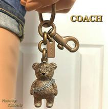 COACH Star Wars Bear Keychain Chewbacca Limited Edition Bag Charm NWT - $89.09