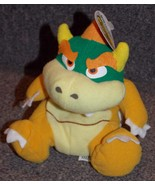 1997 Nintendo 64 Mario Bros Bowser Plush Beanie Stuffed Toy New With Tag - $29.99