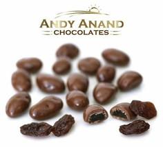 Andy Anand Milk Chocolate California Raisins  Box 1 lbs With Free Air Sh... - $34.49