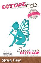 Spring Fairy. Cottage Cutz Die. Card Making. Scrapbooking