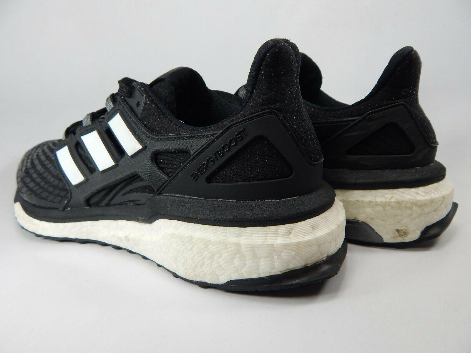 Adidas Energy Boost Misura USA 9.5 M (D) Eu 43 1/3 Uomo Scarpe da Corsa Nero image 4