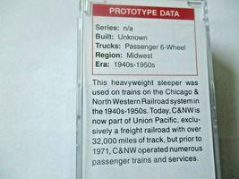 Micro-Trains # 14200430 Chicago & Northwestern 83' Heavyweight Sleeper Car (N) image 5
