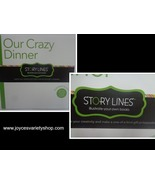 OUR CRAZY DINNER Illustrate Your Own Book Story Lines BRAND NEW - $10.99