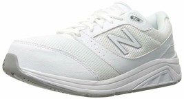 NEW BALANCE WOMENS SZ 10.5 2E XWIDE WHITE WALKING SHOES SNEAKERS 928V2 NIB - $69.99