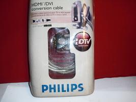 hdmi dvi  conversion  cable   phillips   swv3567w/17 - $1.99