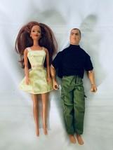 Red Hair Barbie with GI Joe Doll - $21.35