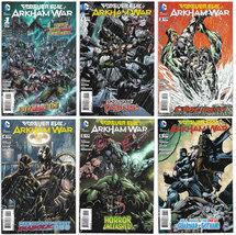 Forever Evil: Arkham War 1 - 6 Complete 2013-2014 DC (VF+) - $7.99