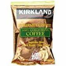 100% Colombian Coffee Bean Dark Roast Fine Grind 42/1.75 ounce Pouches PACK OF 2 - $72.52