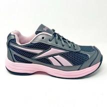 Reebok Work Ketee Black Pink Oxford Womens Steel Toe Shoes RB164 - $39.95