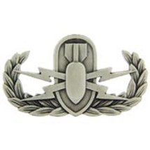 Us Army Basic Eod Badge - $9.89