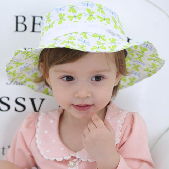 85627126102 Cute Baby Sun Hat Butterfly Print Bowknot and 50 similar items. T butterfly  print bowknot bucket sun cap summer children fisherman hats outdoor kids.jpg  ...