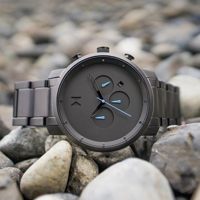 MVMT Watches | Men's | Gunmetal Chrono Series | 45mm
