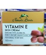 Nature's Secret VITAMIN E Skin Cream Enriched with JOJOBA oil 150ml - $9.89