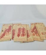 Acrylic Letters and Numbers Florida Plastics Inc Vintage Lot - $23.38