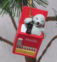 Cute 1999 Coca Cola Coke Baby Seal in Ice Chest Bottle Cooler Christmas ... - $6.19