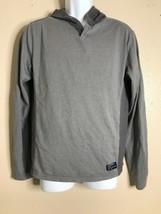Union Men Size M Gray Sweatshirt Hoodie Long Sleeve Pullover - $16.97