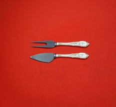 Rose Point by Wallace Sterling Silver Hard Cheese Serving Set 2-Piece Custom  - $109.00
