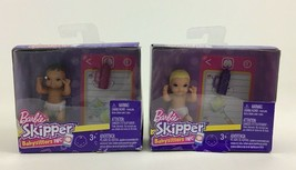 Barbie Skipper Doll Blonde and Brown Baby Babysitters Inc Mattel Lot of ... - $17.77