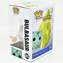 Funko Pop! Pokemon Metallic Silver Bulbasaur #453 25 Year Anniversary Figure image 3