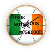 Conor McGregor Wall Clock - Conor Notorious McGregor clock - $27.99