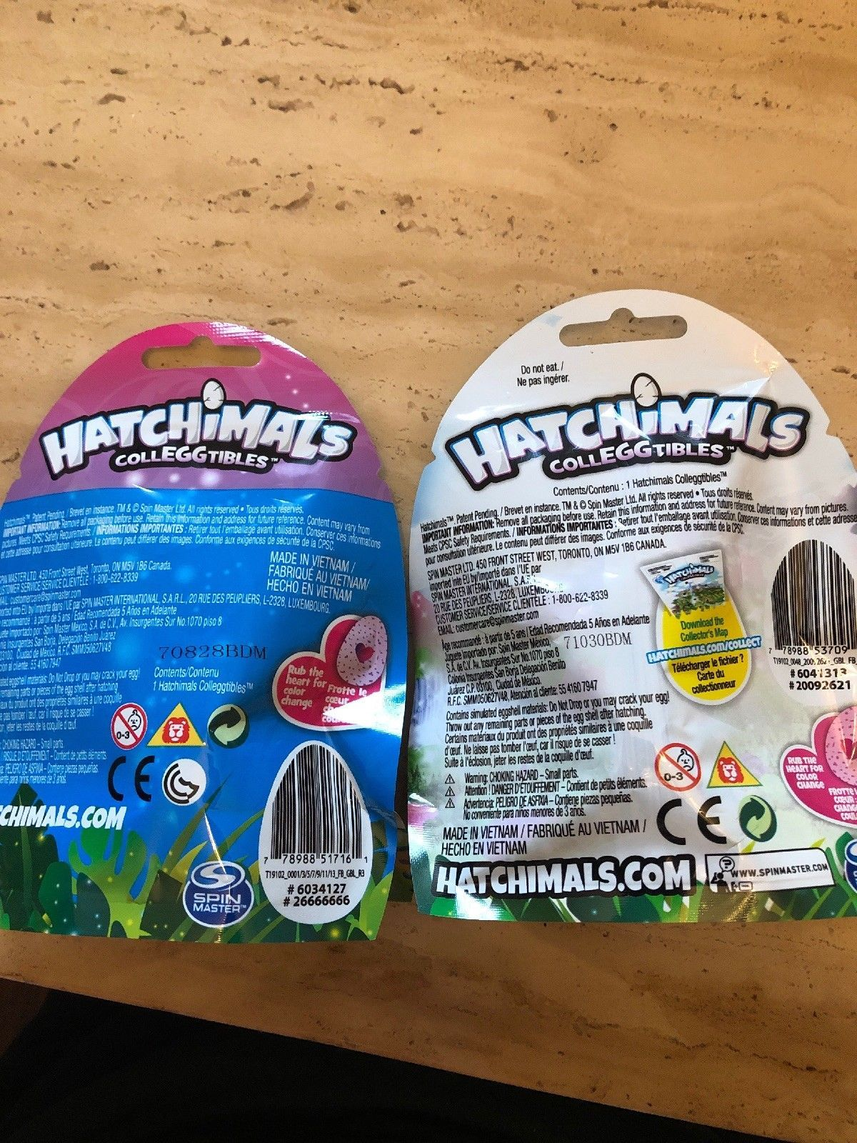 "Hatchimals ""Colleggtibles"" Mystery Figure 2-Pack Set Sealed Season 1 And 2"