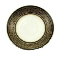 "MIKASA Bone China Japan Narumi Mount Holyoke 114 - 6-1/2"" BREAD PLATE - $5.45"