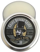 GRAVE BEFORE SHAVE Gentlemen's Blend Beard Balm Bourbon Scent 2 oz. - $16.27