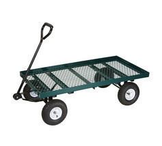 1,000 Lb. Mesh Deck Steel Wagon (hft) - £252.85 GBP