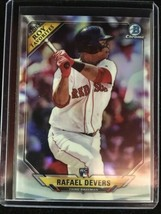 Rafael Devers 2018 Bowman Baseball Roy Favorites Rc Red Sox - $0.98