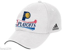 Indiana Pacers Adidas White Adjustable 2012 Playoffs NBA Basketball Cap ... - $17.09