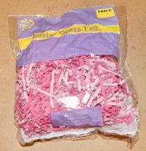 Easter Basket Grass DIY Plastic & Paper You Choose Color Ashland & Happy... - $1.89+