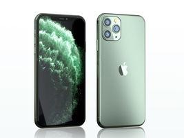 Iphone 11 pro max midnight green 3d model obj mtl fbx c4d blend dae thumb200